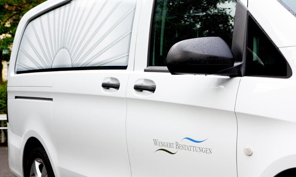 Fahrzeug - Wengert Bestattungen